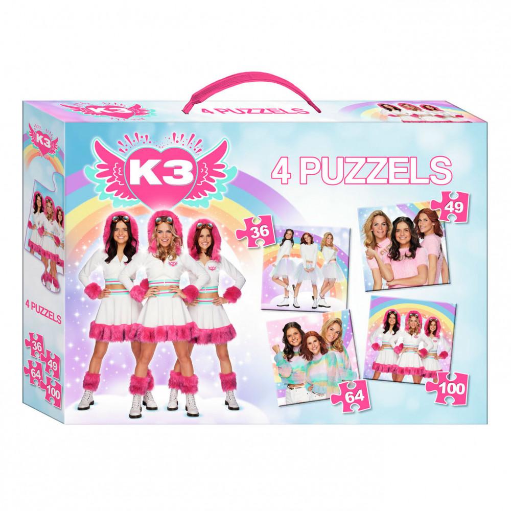 K3 Puzzel 4in1
