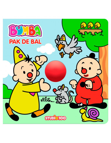 Bumba Kartonboek - Pak de bal!