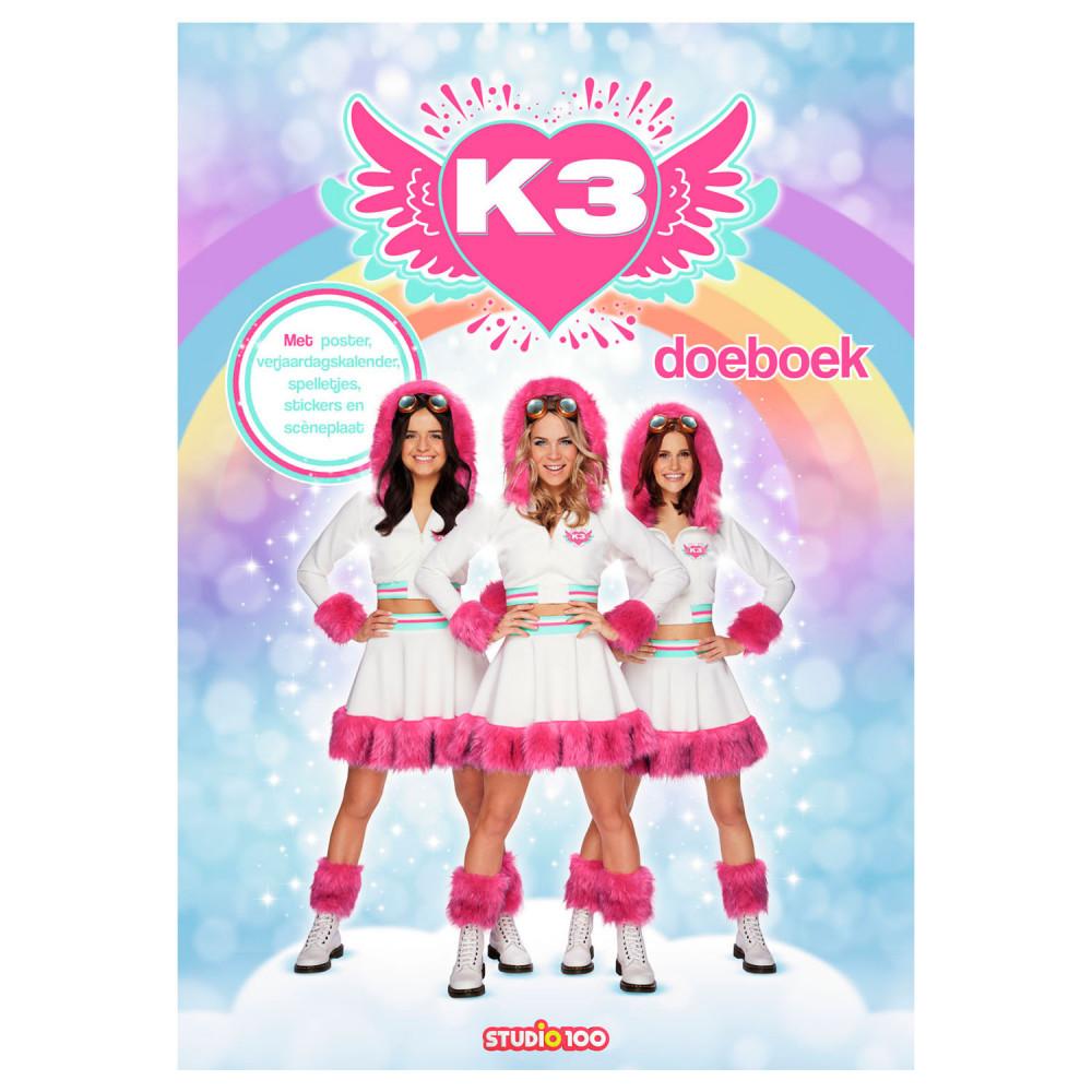 K3 Doeboek Dromen met Sceneplaat