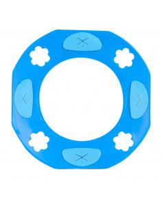 Washplate Blauw, incl. 2 doekjes