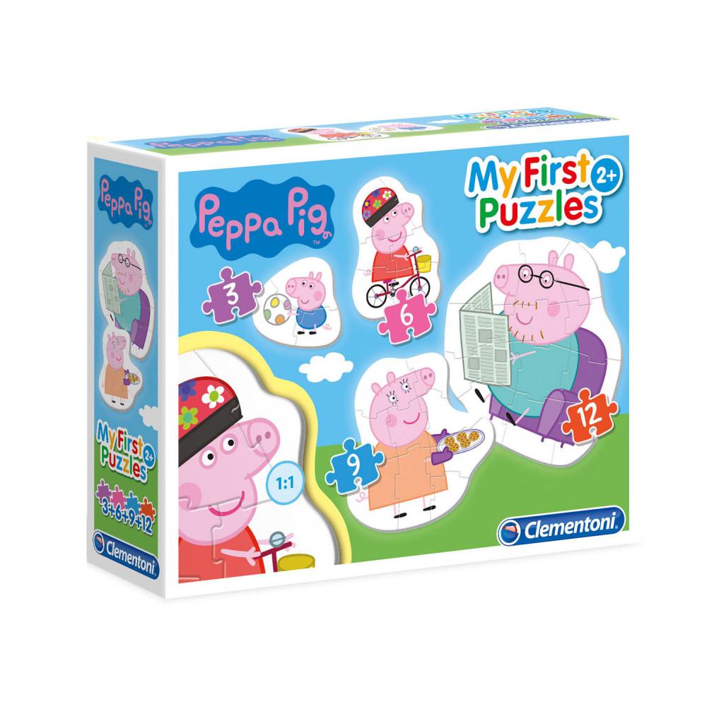 Clementoni Mijn Eerste Puzzels - Peppa Pig