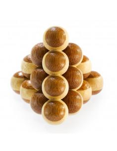 3D Bamboo Breinpuzzel Cannon Balls *