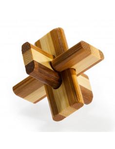 3D Bamboo Breinpuzzel Doublecross **