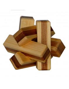 3D Bamboo Breinpuzzel Firewood **