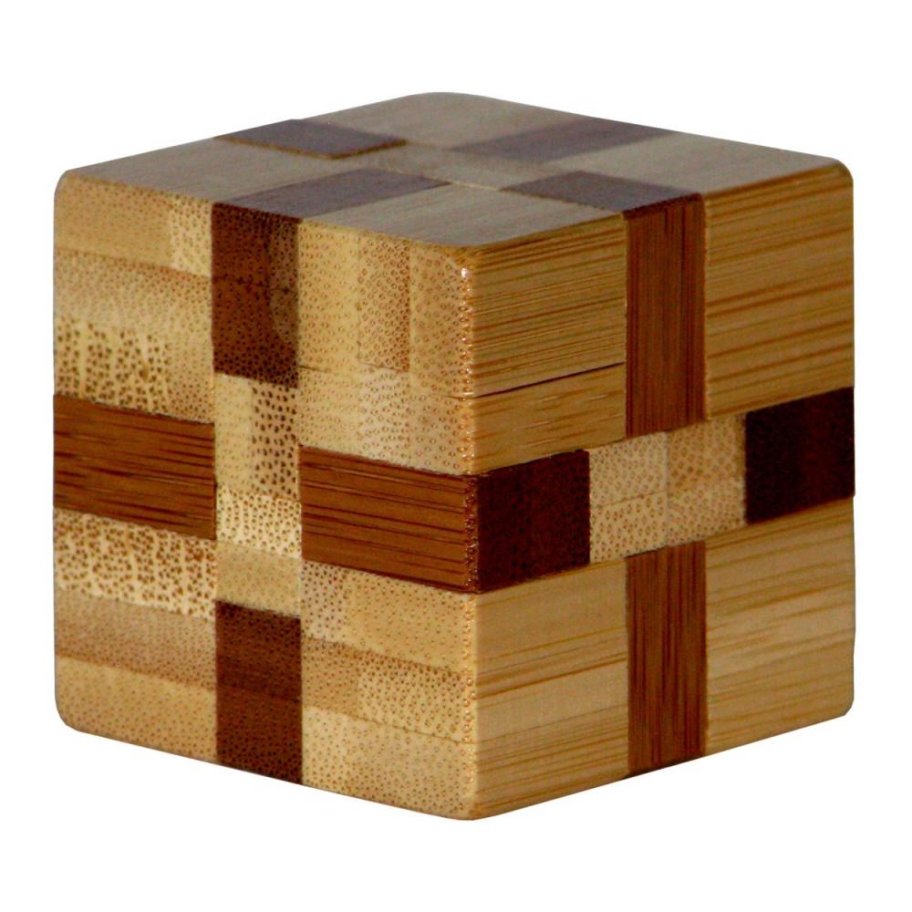 3D Bamboo Breinpuzzel Cube ***