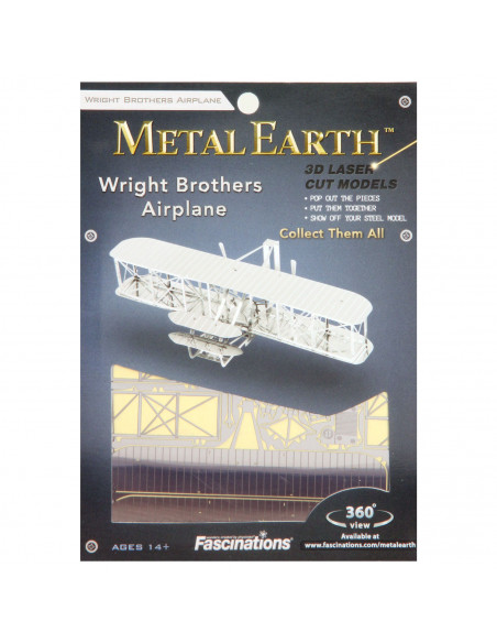 Metal Earth Wright Brothers Airplane