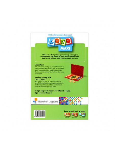 Loco maxi Spelling groep 7-8 10-12 jaar