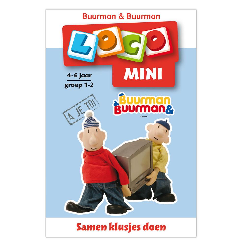 Mini Loco Buurman en Buurman - Samen Klusjes Doen