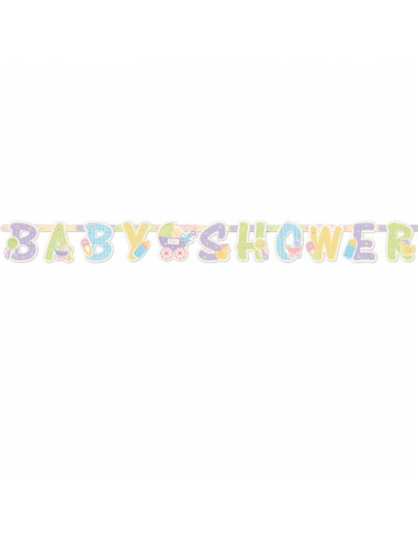 Babyshower Letterslinger 1,87 m x...