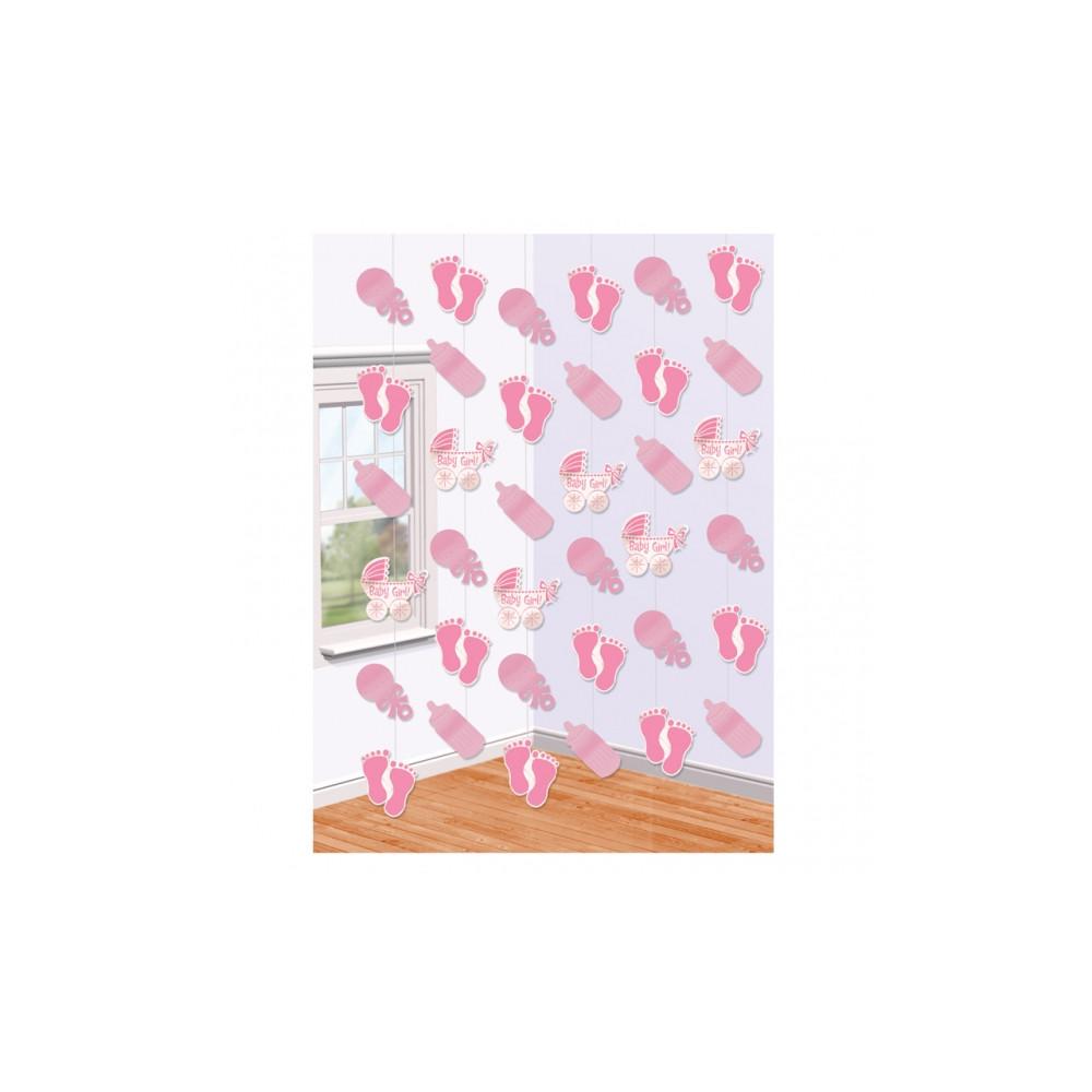 Baby Meisjes Slinger Decoratie 6x2m