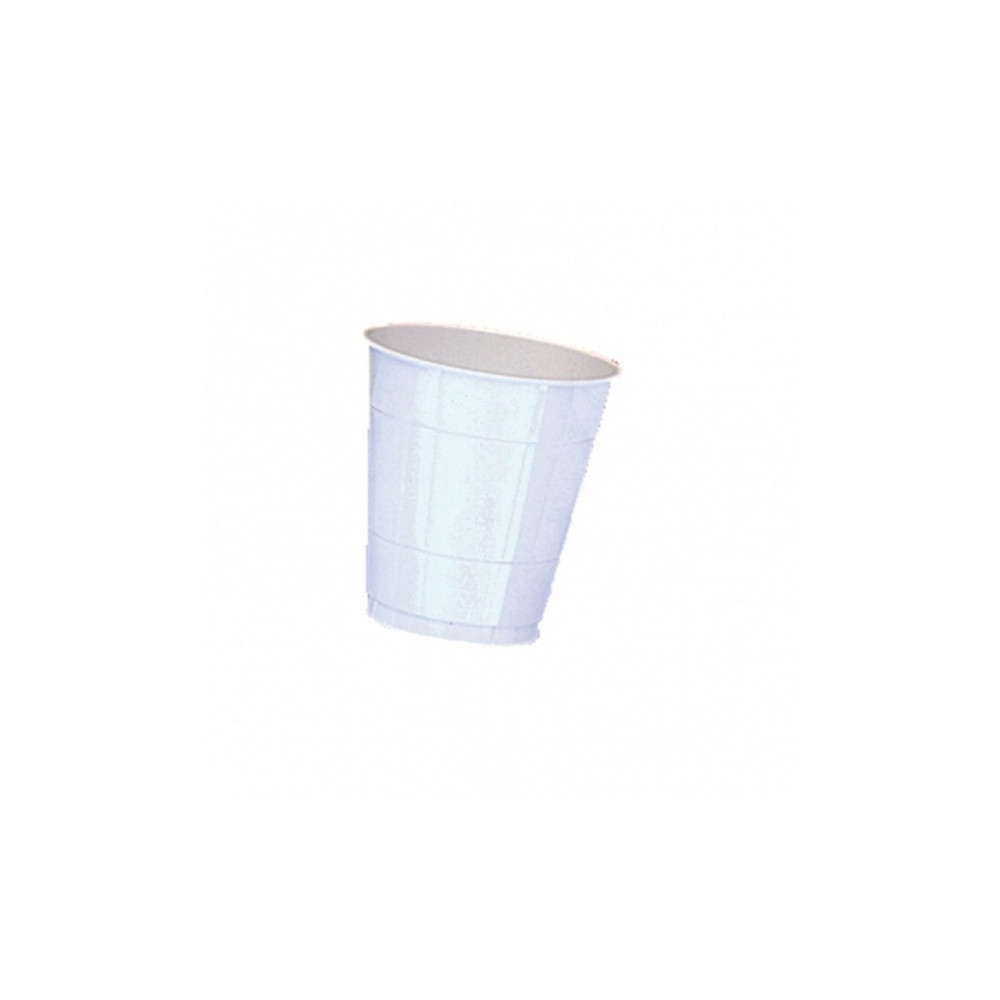 Witte Plastic Bekers 10st. 355ml