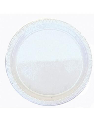 Witte Plastic Borden 10st. 22,8cm
