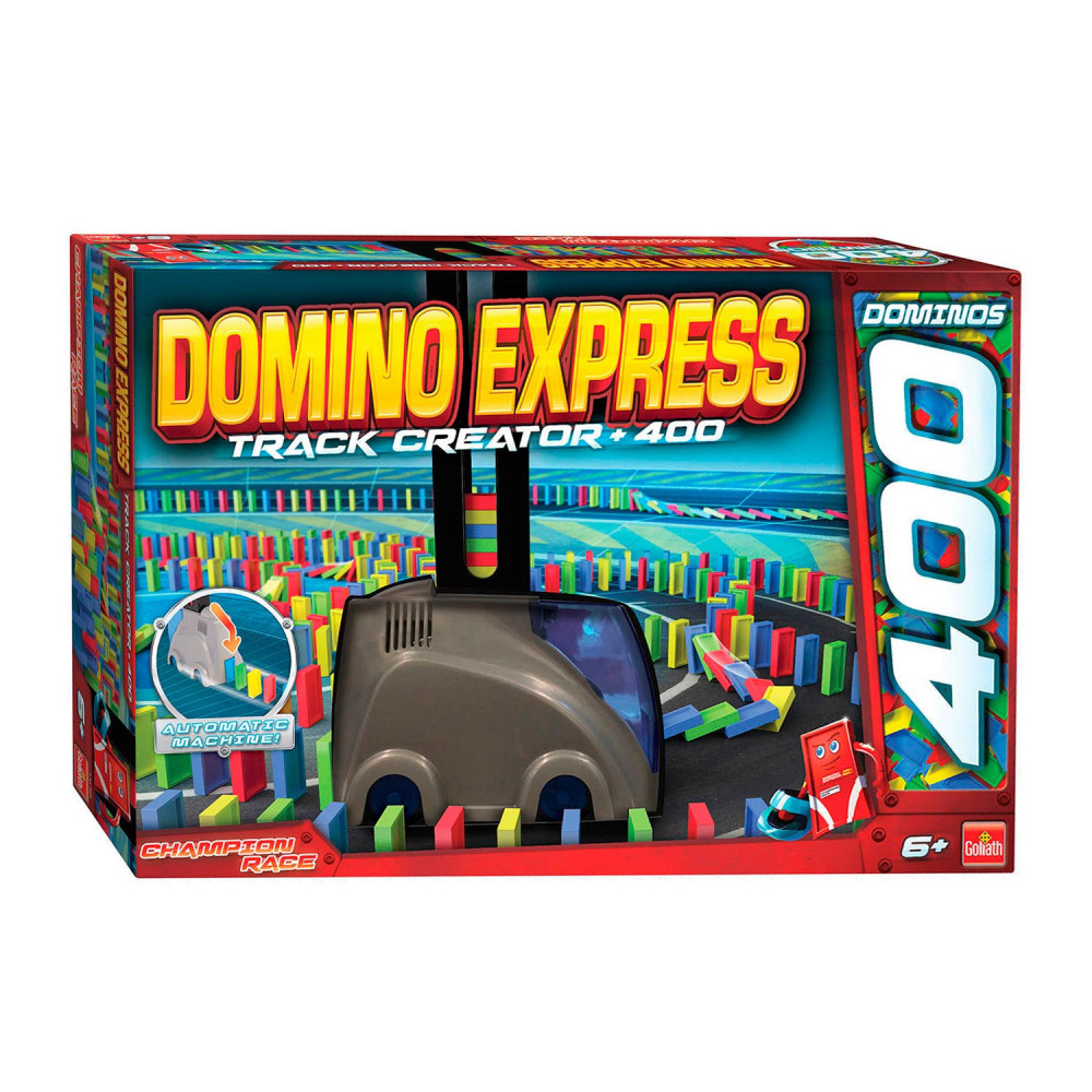 Domino Express Track Creator met 400 Domino's