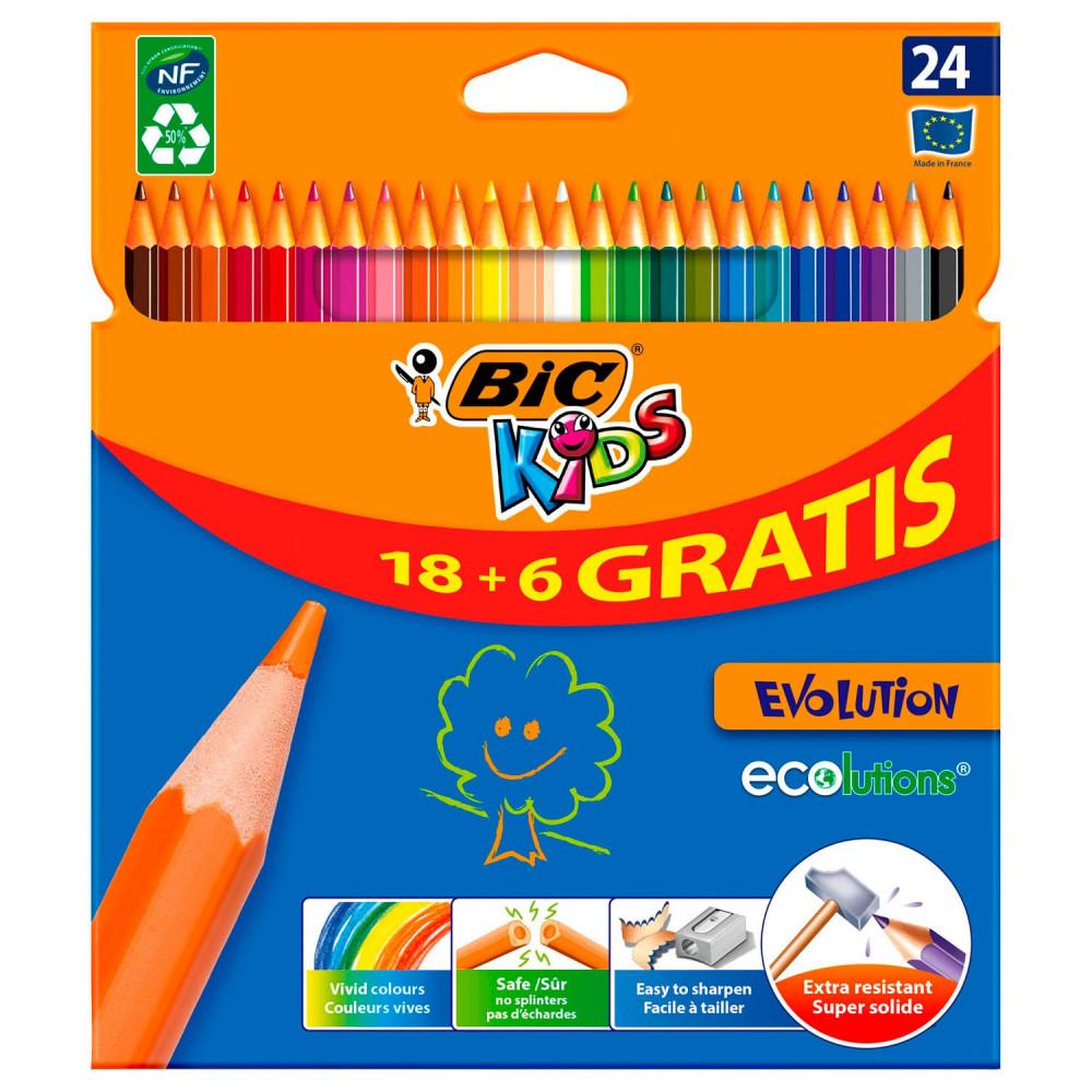 BIC Kids ECOlutions Evolution, 24st.