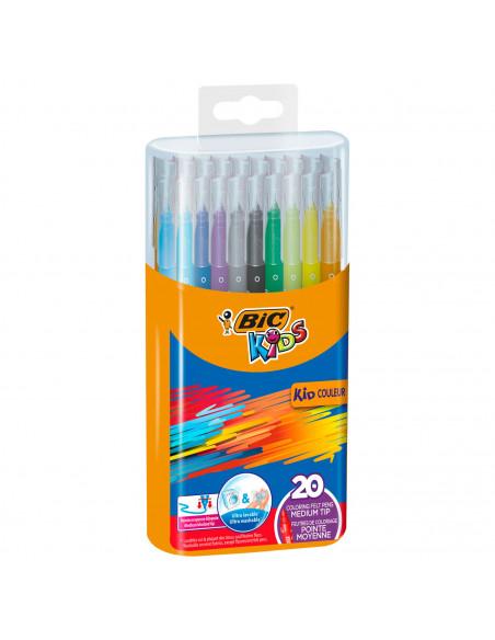 Bic Kids Durable Pack Kid Couleur, 20st.