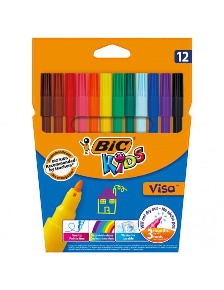 BIC Kids Visa, 12st.