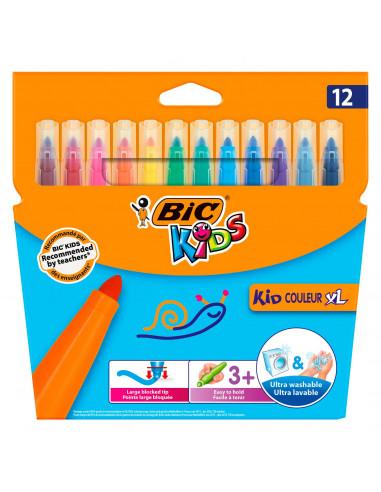 BIC Kids Kid Couleur XL, 12st.