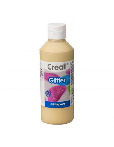 Creall Glitterverf Goud, 250ml