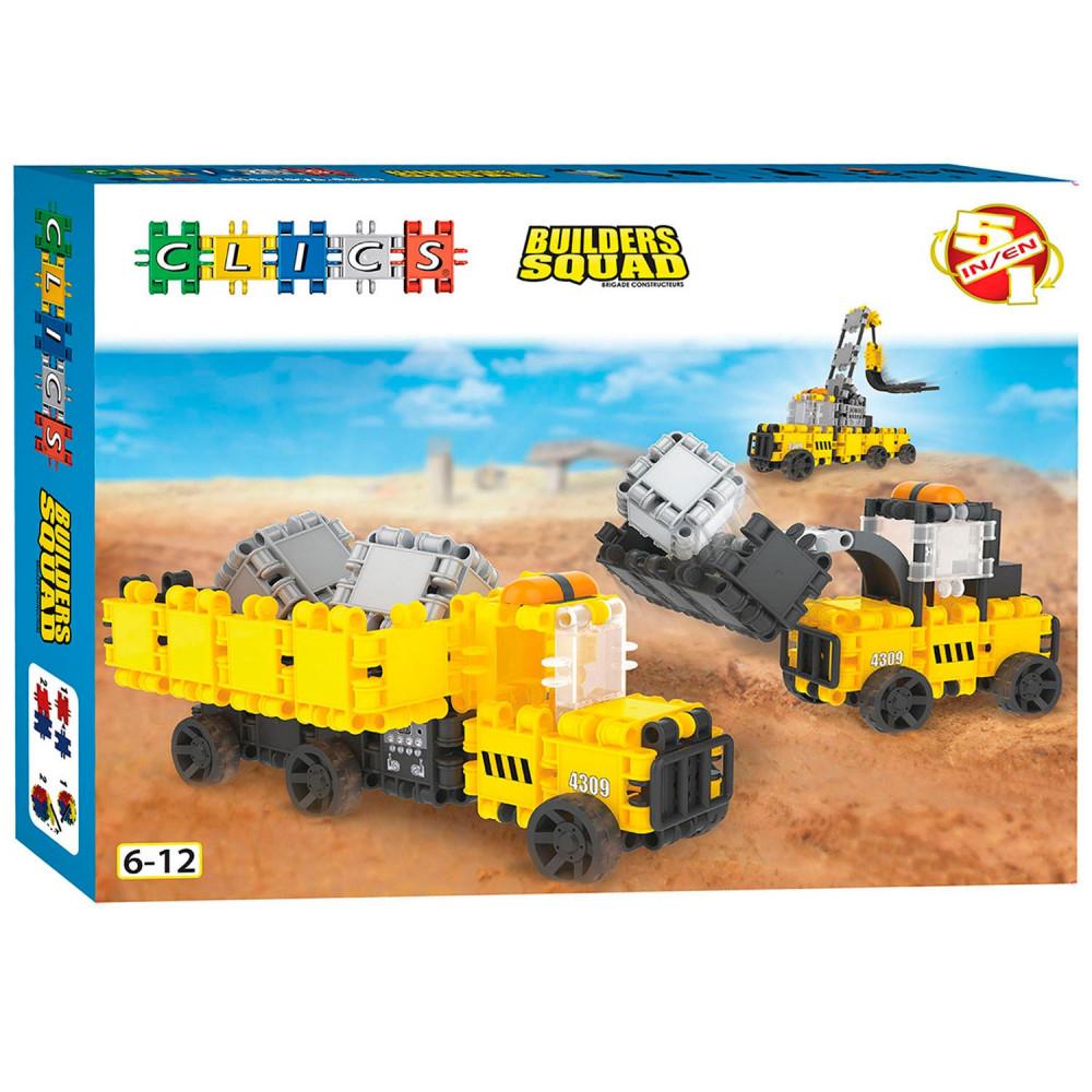 Clics Builders Werkvoertuigen, 5in1