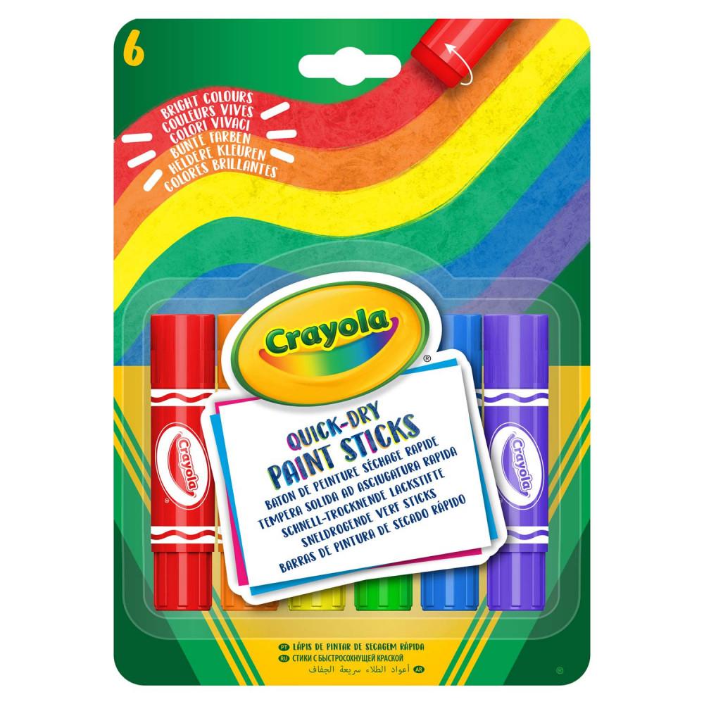 Crayola Verfsticks, 6st.