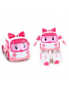Robocar Poli Transforming Robot - Amber