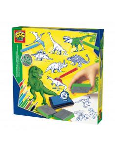 SES Stempelset Dino