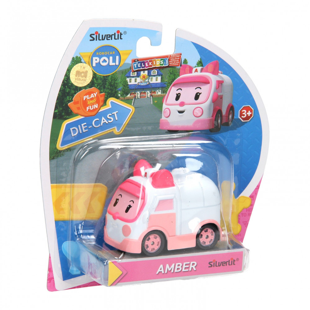 Robocar Poli Die-Cast - Amber