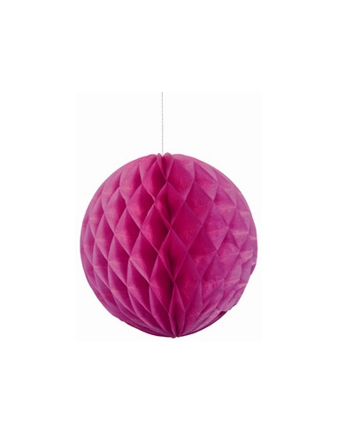 Honeycomb Rond Roze 35cm