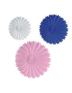 Fan Multi color 3st 20cm/35cm/50cm