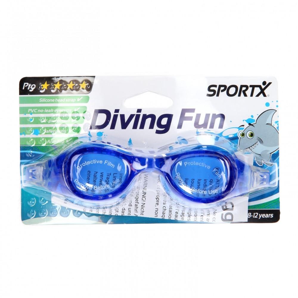 SportX Junior Zwembril Pro - Blauw