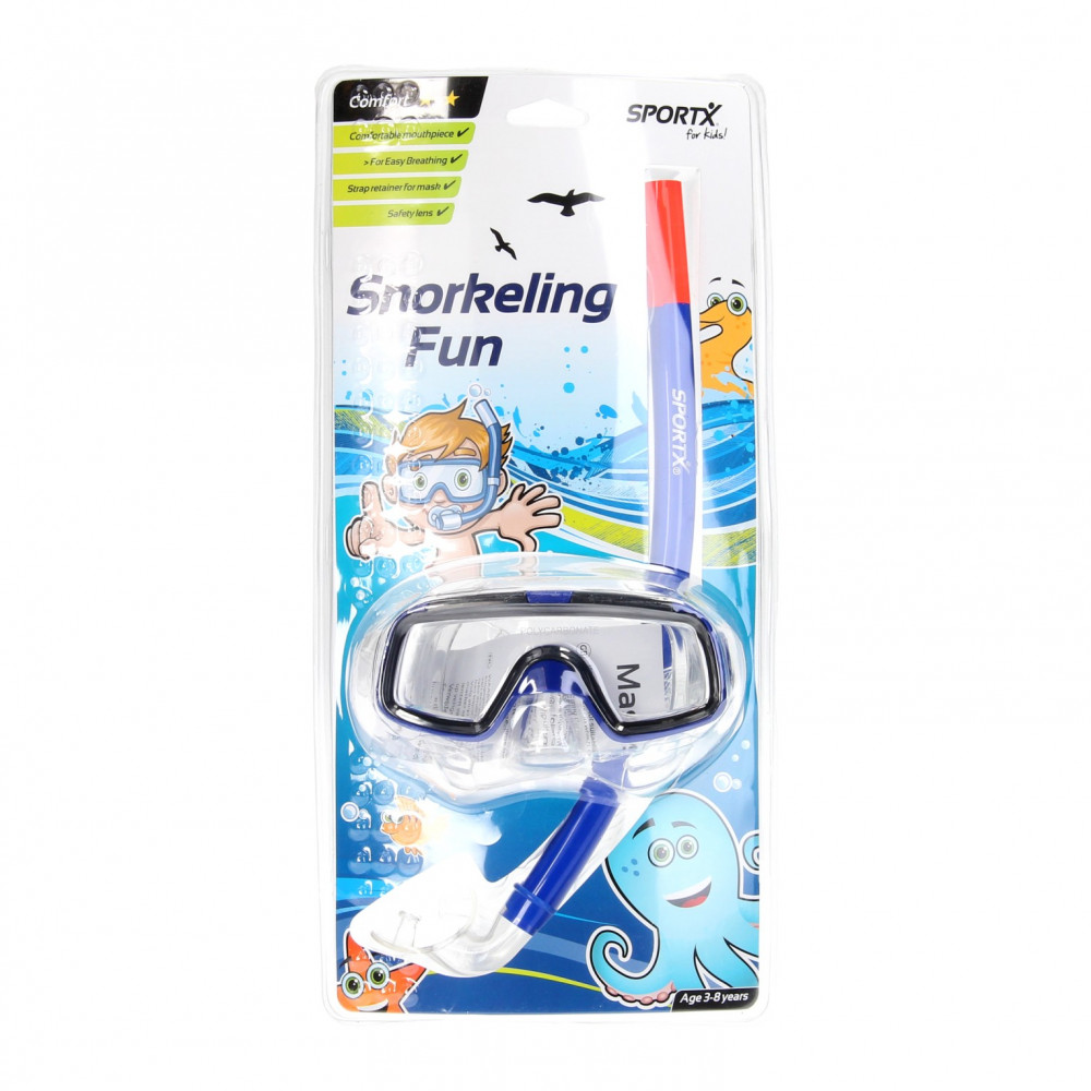 SportX Kids Snorkelset