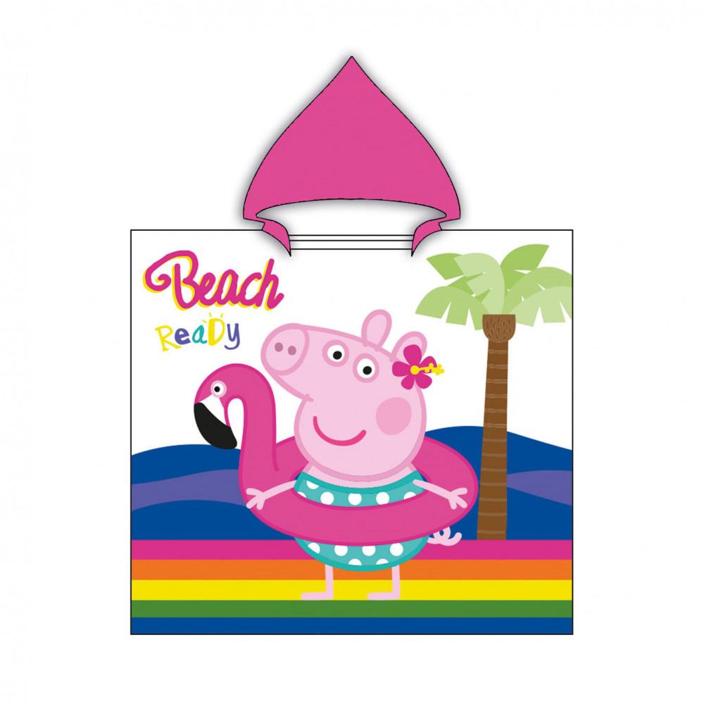 Poncho Peppa Pig, 60x120cm