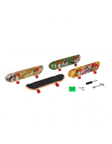 Vinger Skateboardjes, 4st.