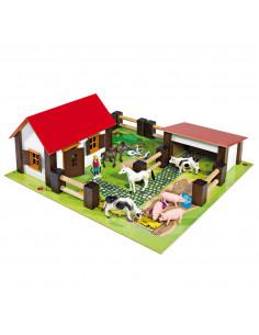 Eichhorn Boerderij incl. dieren en accessoires