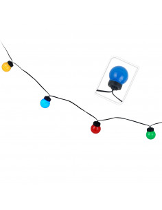 Feestverlichting 10 Lampen Multi BT