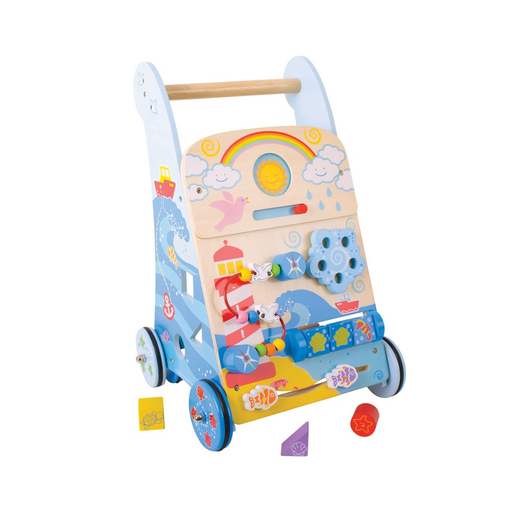 BigJigs Houten Marine Activity Walker