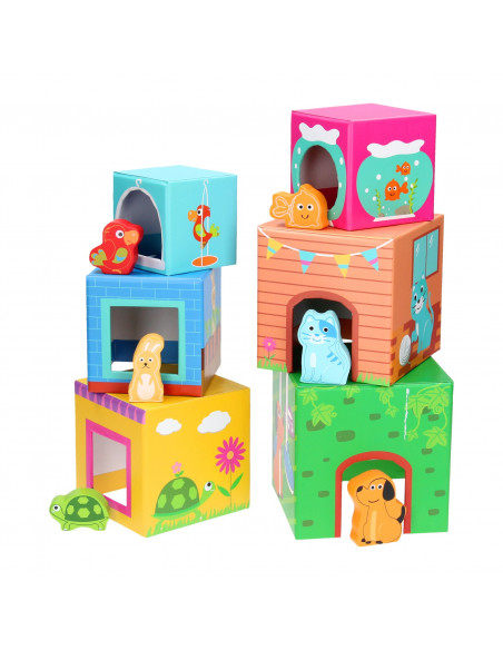 Base Toys Stapeltoren met Dieren
