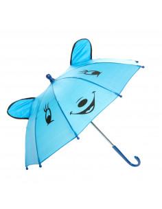 Vrolijke Dieren Paraplu - Blauw