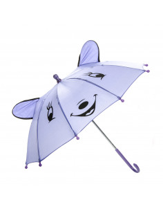 Vrolijke Dieren Paraplu - Paars