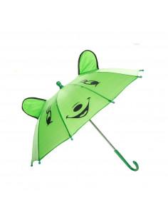 Vrolijke Dieren Paraplu - Groen