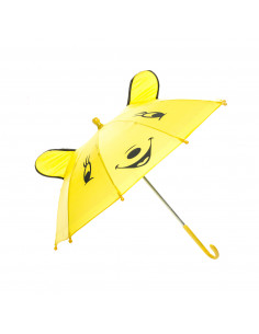 Vrolijke Dieren Paraplu - Geel
