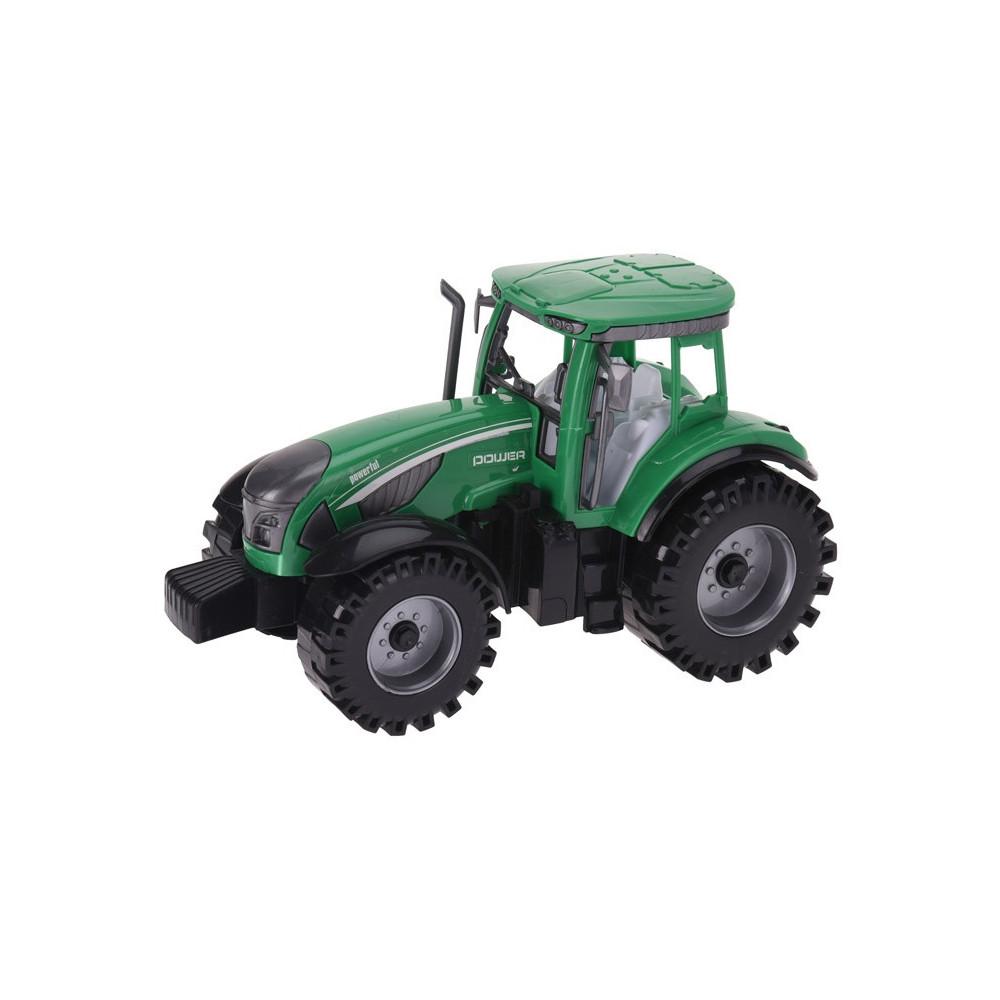 Tractor 22,5cm Groen
