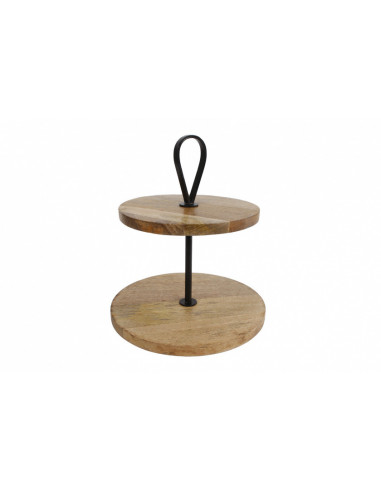 Etagere Eye 30x30x34cm Hout/staal...