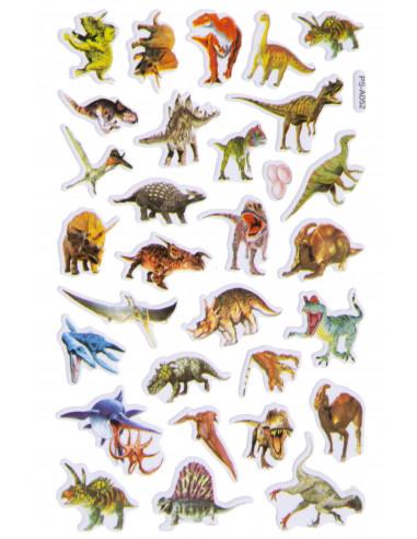 Stickervel Dinosaurs 30-delig