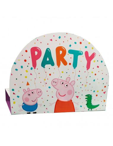 Uitnodigingen Peppa Pig, 8st.