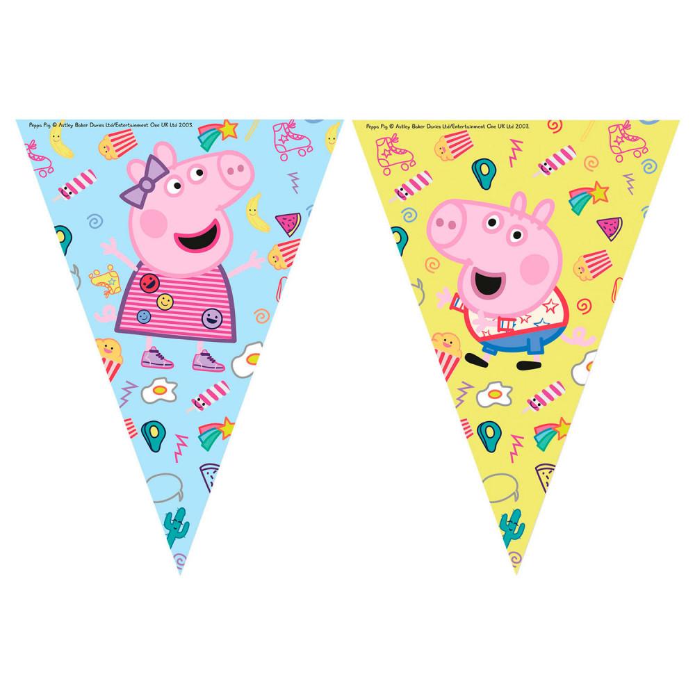 Vlaggenlijn Peppa Pig