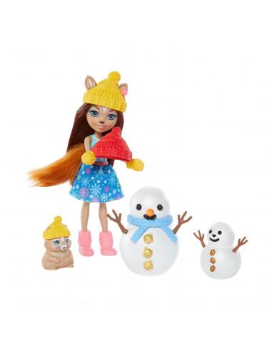 Enchantimals Pop  - Eekhoorn Snowman