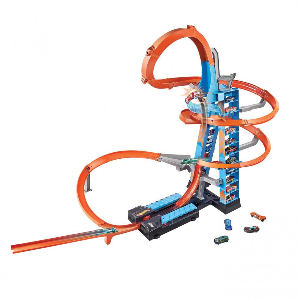 Hot Wheels Action Wolkenkrabber Crash Speelset Online Kopen Speelgoedfamilie Nl