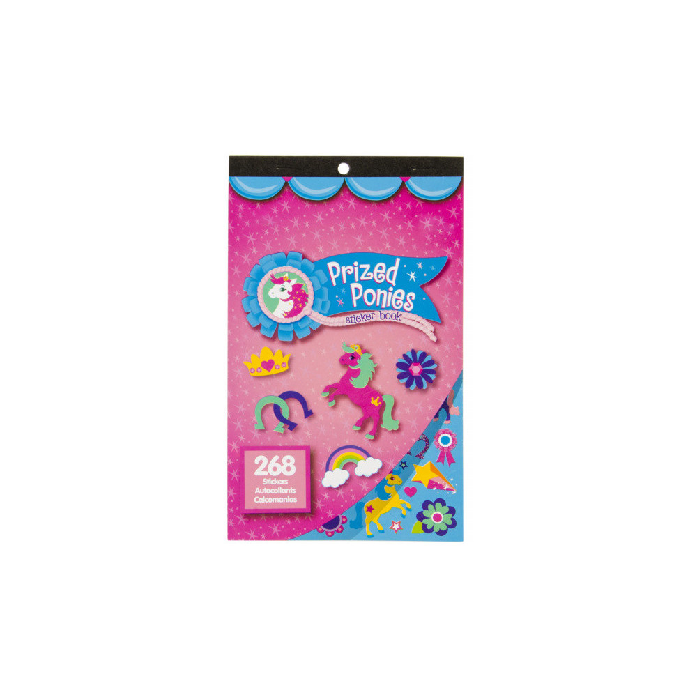 Stickerboek Prized Ponies Karton 268 Stickers