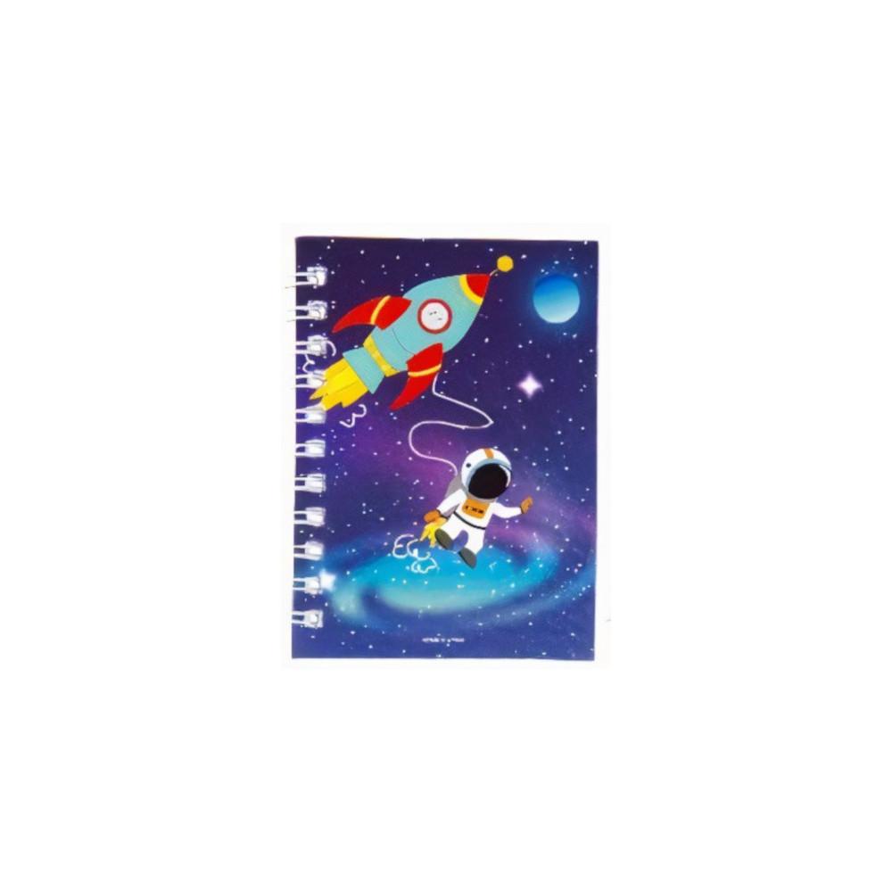 Notitieboekje Ruimtje Junior 10,5 Cm Papier Blauw